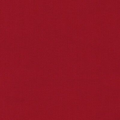 Kona Cotton  Chinese Red   Bty Robert Kaufman Solid Color