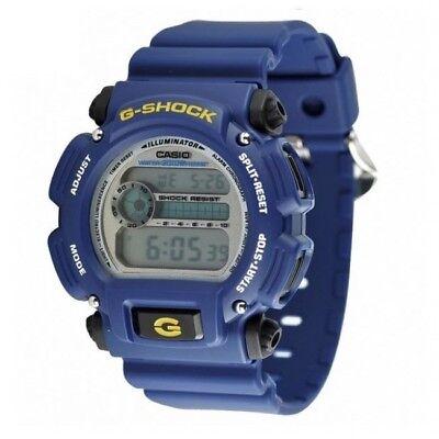Casio G-Shock DW-9052-2V Blue Digital Mens Watch Illuminator Stopwatch DW-9052