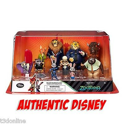 Authentic Disney Zootopia Figure Cake Topper Toy Judy Hopps Nick Wilde BrokenBox
