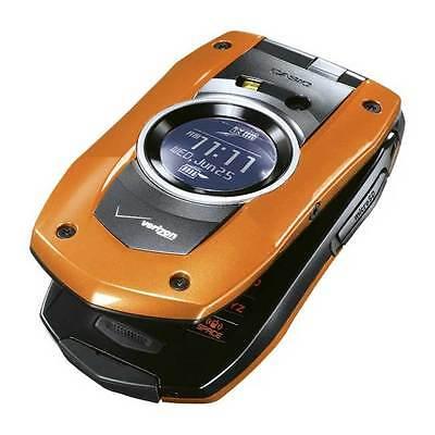 Casio G'zOne Boulder C711 - Orange(Verizon) Cellular Phone