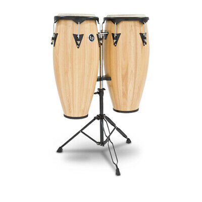 LP Latin Percussion LP646NY-AW City Series Conga Set With Stand