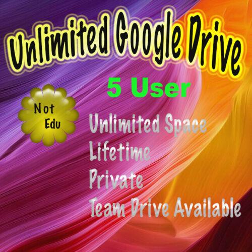 👉5 Gsuite Google Drive Unlimited 🔥 Private 🔥Request Username 🔥Not .Edu  🔥