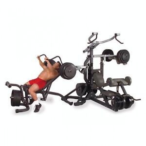 body solid free weight  leverage gym