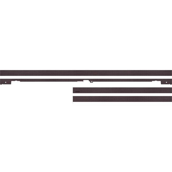 "Samsung 49"" The Frame Customizable Bezel Walnut VGSCFN49DPZA"