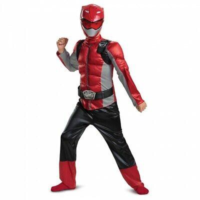 Disguise Power Rangers Biest Morpher Rot Muskel Kinder - Power Ranger Kostüme Kinder