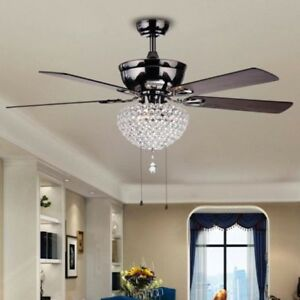 Tiffany chandelier ebay 52 tiffany crystal ceiling fan light home chandelier lamp ceiling fixture aloadofball Choice Image