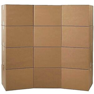 Moving Boxes - Large Boxes - Qty: 12 Boxes - Free Two-Day Shipping