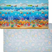 "Play Mat by Dwinguler™ - ""Ocean"" theme w/ modern reverse Docklands Melbourne City Preview"