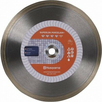(Husqvarna Ceramic Tile Saw Blade 7-inch Premium Superlok Porcelain Plus)