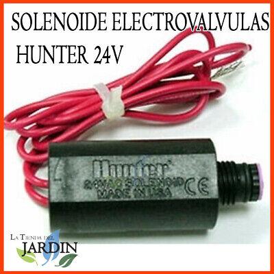 SOLENOIDE RIEGO HUNTER 24V ORIGINAL PARA TODAS LAS VALVULAS HUNTER ELECTRICA 24V