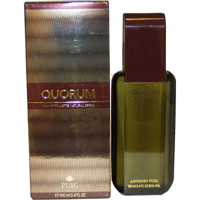 Quorum by Antonio Puig Cologne for Men 3.4 oz EDT Spray New in Box