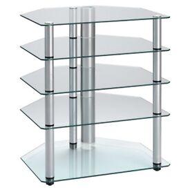 Alphason 5 shelf hifi rack