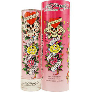 Ed Hardy Love Kills Slowly Christian Audigier EDP Spray 3.4 oz NEW in BOX