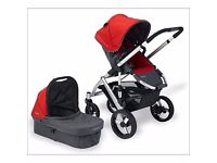 Pushchair and Pram System. Uppababy Vista. Excellent condition