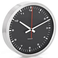 Blomus 63213 30cm Era Collection Wall Clock - Black