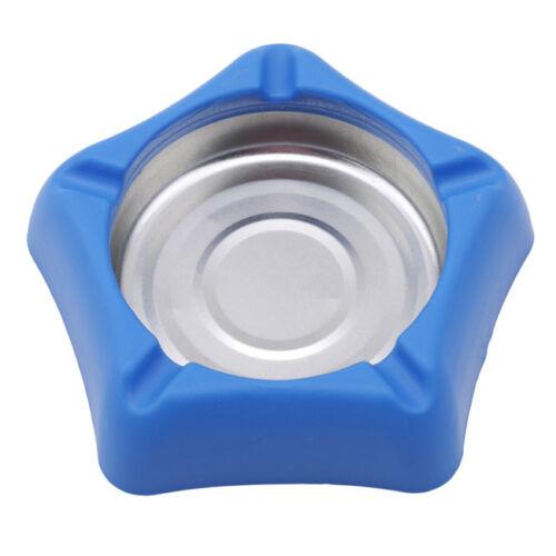 Cenicero De Cigarrillos Azul De Acero Inoxidable del Pentágono bandeja de ceniza para el hogar casa Cafe D