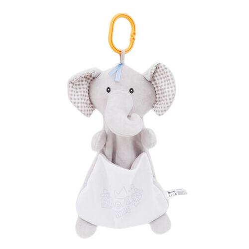 Newborn Infant Animal Handbells Teether Developmental Bed Bells Toys Game Y2