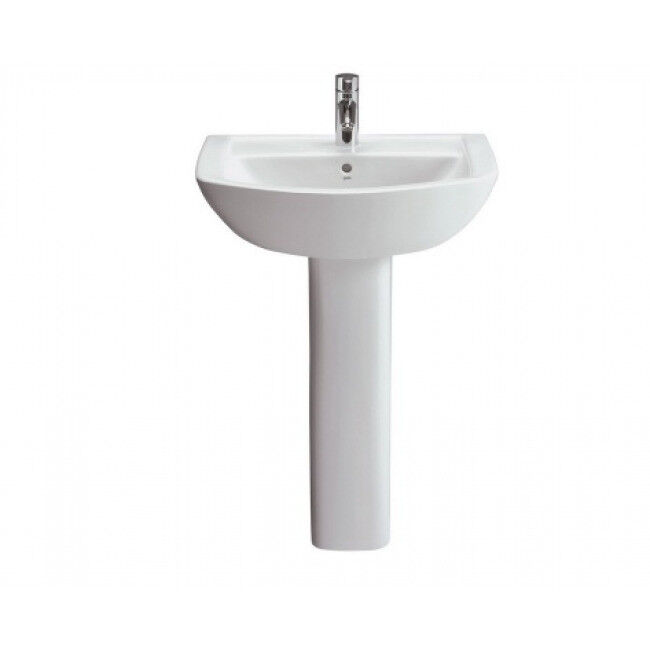 Lavabo 550mm Sink and Sorrano heavy duty pedestal (new and boxed)
