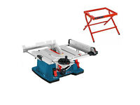 Bosch Table saw GTS 10 XC Professional with Machine stand GTA 6000
