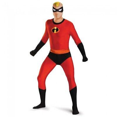 Disguise Mr.Unglaubliche Body Skinovation Erwachsene Herren Halloween Kostüm ()