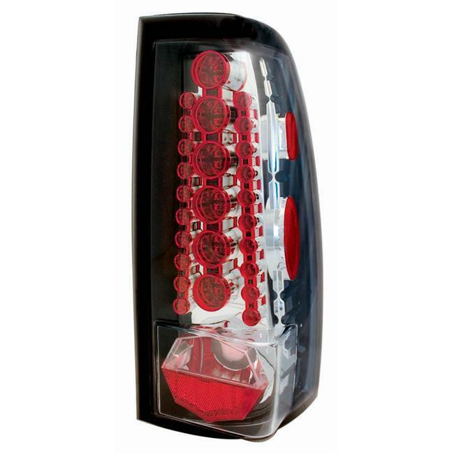 IPCW LEDT-3039C Chevrolet Silverado 1999 - 2006 Tail Lamps LED Crystal Clear