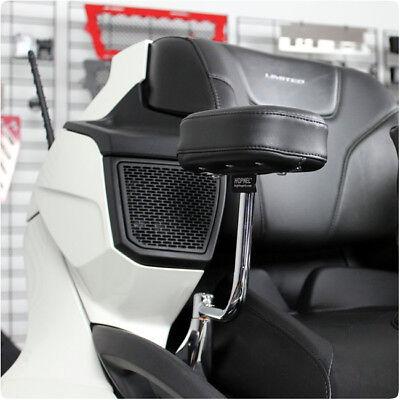 Show Chrome Passenger Armrests for the Can-Am Spyder RT/RT-S/RT Limited (41-159) (Show Chrome Armrest)