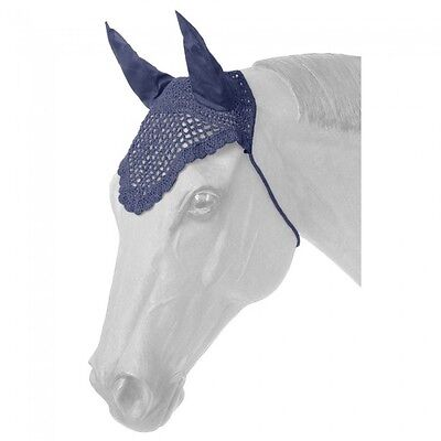 Tough-1 Fly Veil w/out Fringe - Navy - Horse - NWT-#85-36