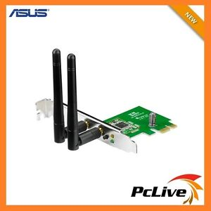 NEW-Asus-PCE-N15-300Mbps-2-4Ghz-Wireless-N-Adapter-Low-Profile-PCI-Express-Card