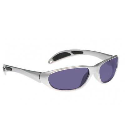 Polycarbonate SodiumFlare GlassWorking Spectacles in Gray Maxx Wrap Safety Frame for sale  Shipping to India
