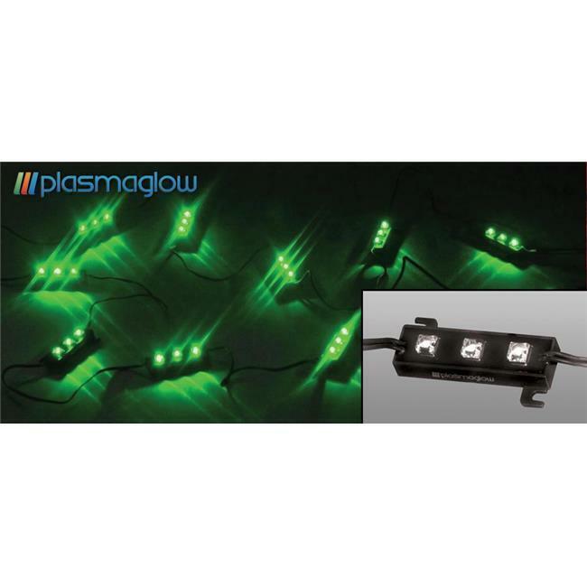 PlasmaGlow 10662 Illuminators LED Modules - 10 Foot - GREEN
