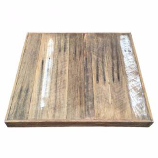 Recycled Timber Table Tops Melbourne Industrial Cafe Tables