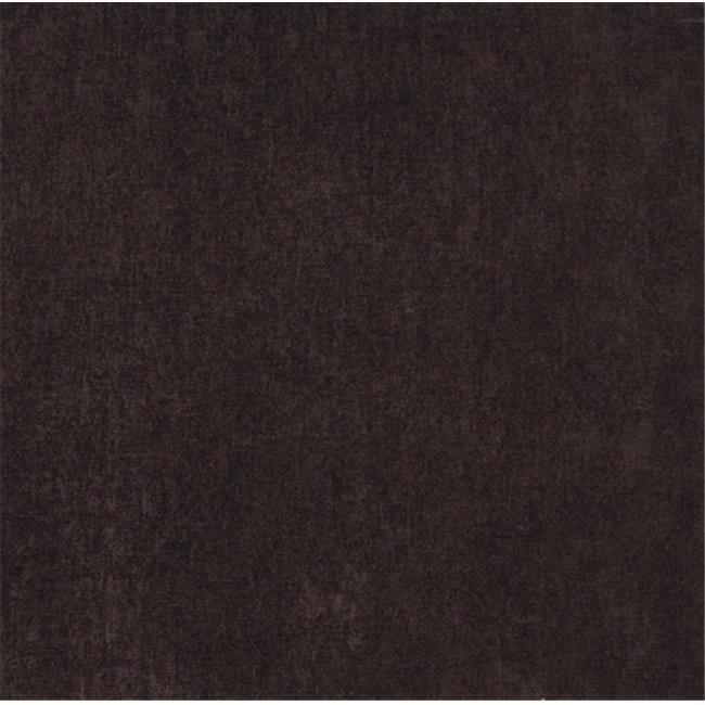 Designer Fabrics E152 54 in. Wide Dark Brown Smooth Polyester Velvet Upholste...