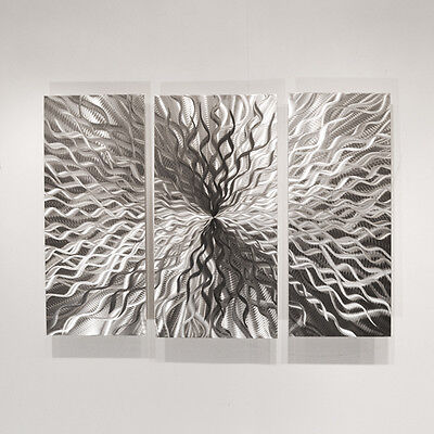 Modern Abstract Metal Wall Sculpture Art Contemporary Painti