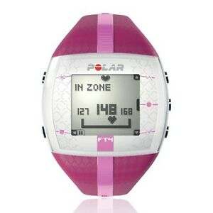 Polar FT4 Pink / Purple Women's  Fitness Heart Rate Monitor Watch - Female - NEW