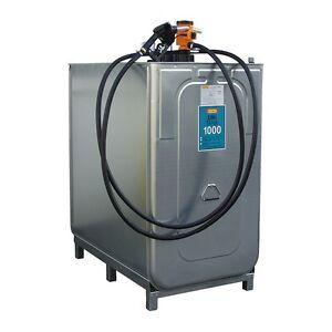 Cemo Dieseltankanlage Tankstation Tankanlage UNI 1000 Liter kpl. Einsteigerpaket