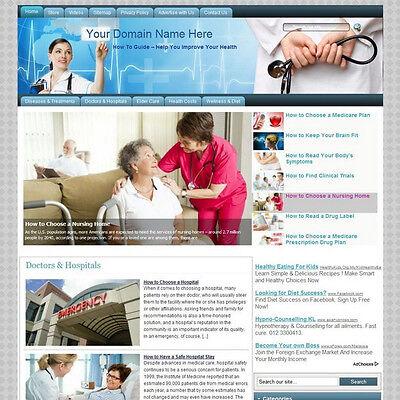 Established Health Care Affiliate Income Online Store Business Website For Sale!