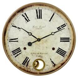 Aspire 4059 Raleigh Pendulum Wall Clock