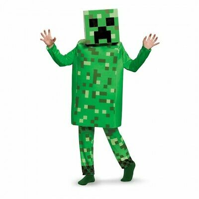 Minecraft Costume Creeper (Disguise Minecraft Creeper Deluxe Child Costume Small)