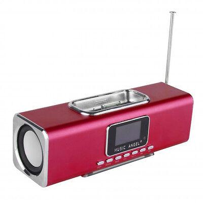 MINI ALTAVOCES MUSIC ANGEL QOOPRO 12033 PANTALLA/USB/IPHONE/RADIO FM + MANDO
