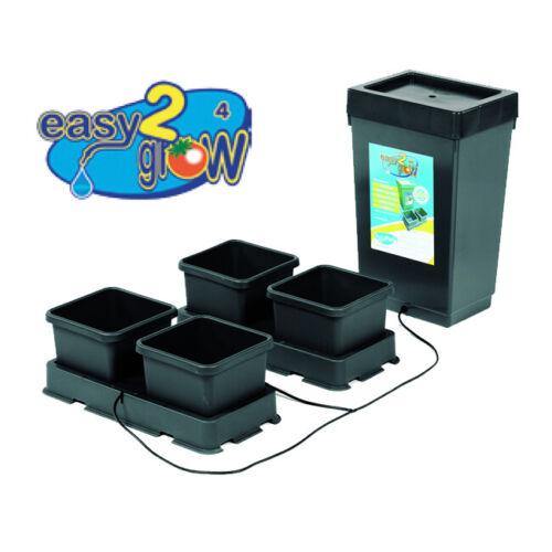 AutoPot easy2grow Kit 4 Pot System w/ 12.4 Gal Tank