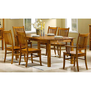 Lexington Dining Room Set 9 Piece Country French In Pecan Finish