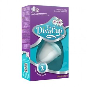 DivaCup (Diva Cup) Model 2 + DivaWash (BRAND NEW, BOXED, SEALED)