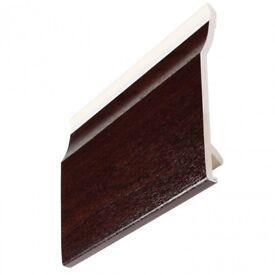 Cladding Shiplap. Flat Board, Reveal, Soffit, Fascia, Rosewood, Light Oak, Grey,Black 5m Brand New