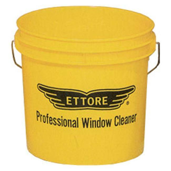 Ettore Products 82222 3.5 Gallon Yellow Window Washing Bucket