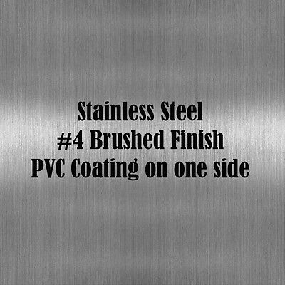 1 Piece Of 9 X 12 Stainless Steel Sheet Metal .060 Thick 16 Gauge4brushed