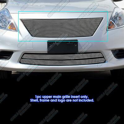 Fits 2012-2014 Nissan Versa Sedan Upper Main Upper Billet Grille Insert