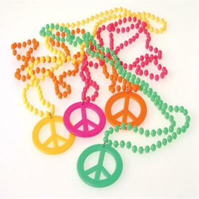 US Toy Company JA673 Peace Sign Necklaces - Pack Of 12 - $28.48