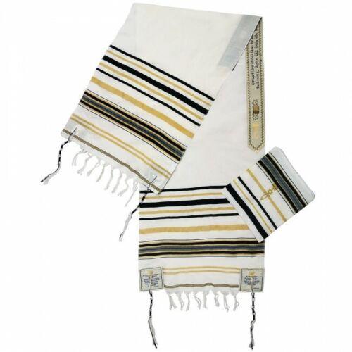 Black New Covenant Prayer Shawl Messianic Tallit Tallis Jewish Christian Israel
