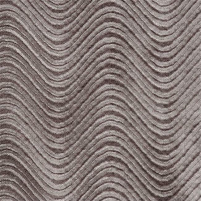 Designer Fabrics C846 54 in. Wide Grey Classic Velvet Swirl Automotive Reside...