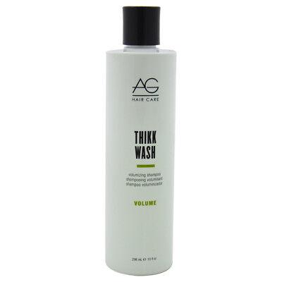 Wash Volumizing Shampoo (Thikk Wash Volumizing Shampoo by AG Hair for Unisex - 10 oz Shampoo )